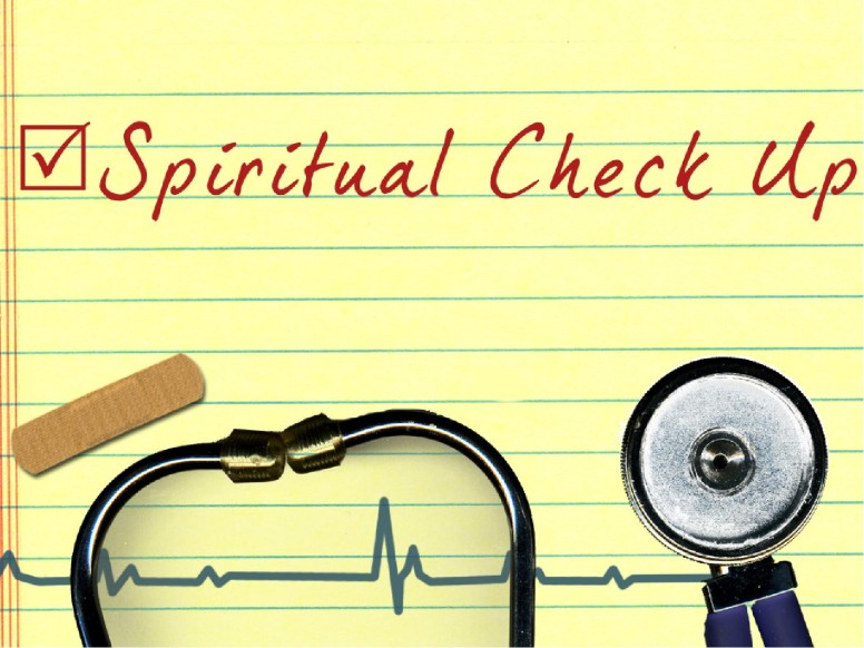 Spiritual Check Up PowerPoint