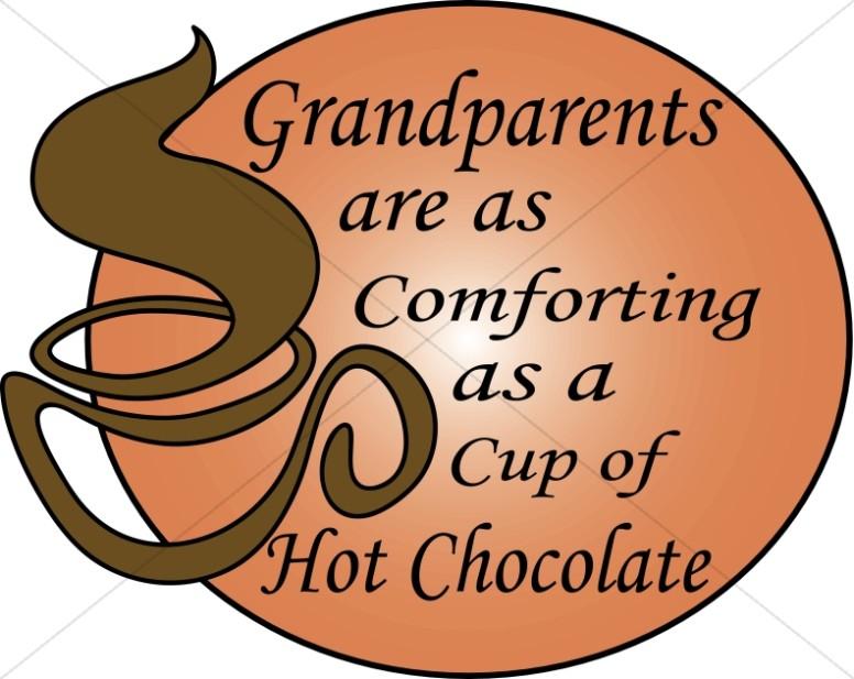 Grandparents Day Word Art