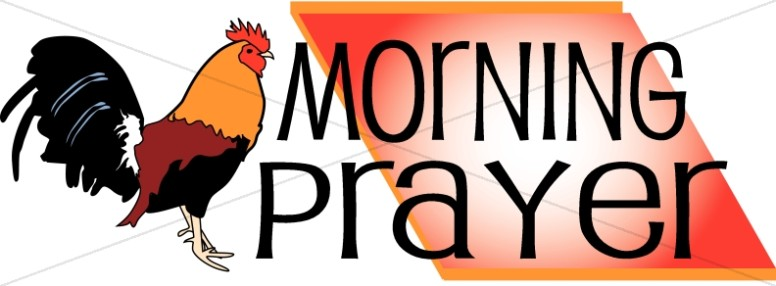 Morning Prayer Clipart