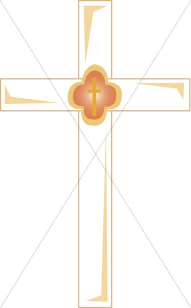 White Cross Clipart