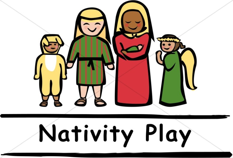 Image result for nativity play clipart