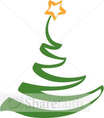 Simple Artistic Christmas Tree Clipart Religious Christmas Clipart - Is A Christmas Tree Religious