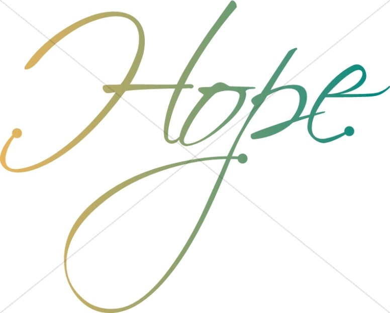 Hope Word Art
