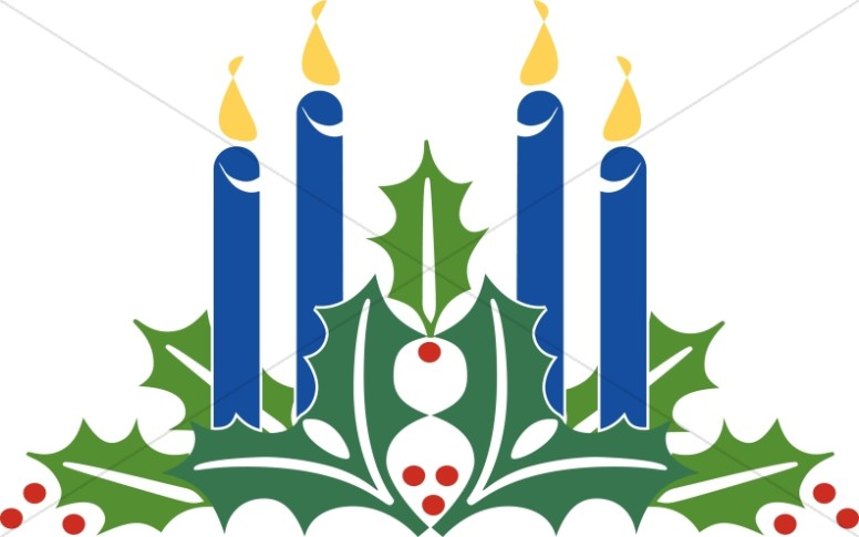 Advent Candles Clipart Christmas