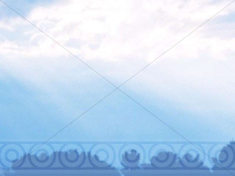 Blue Sky and Clouds in Heaven Photo Background