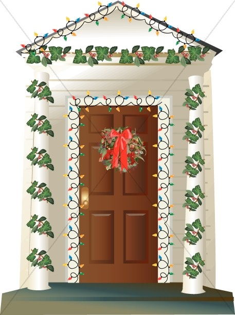 house with outdoor christmas decorations - Religious Outdoor Christmas Decorations