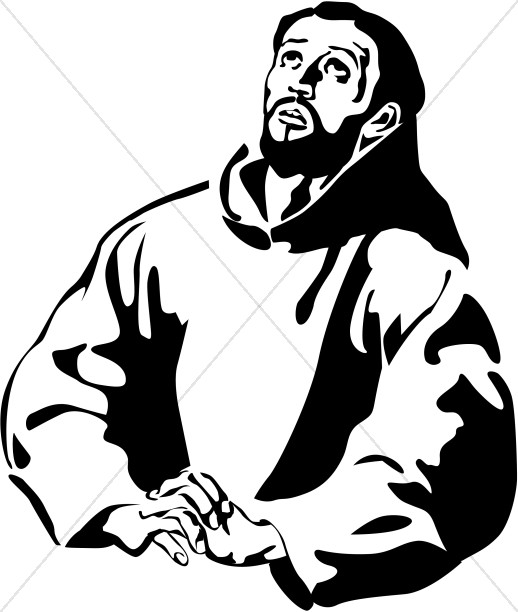 St. Francis of Assisi Clipart