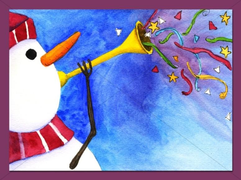 Party Snowman