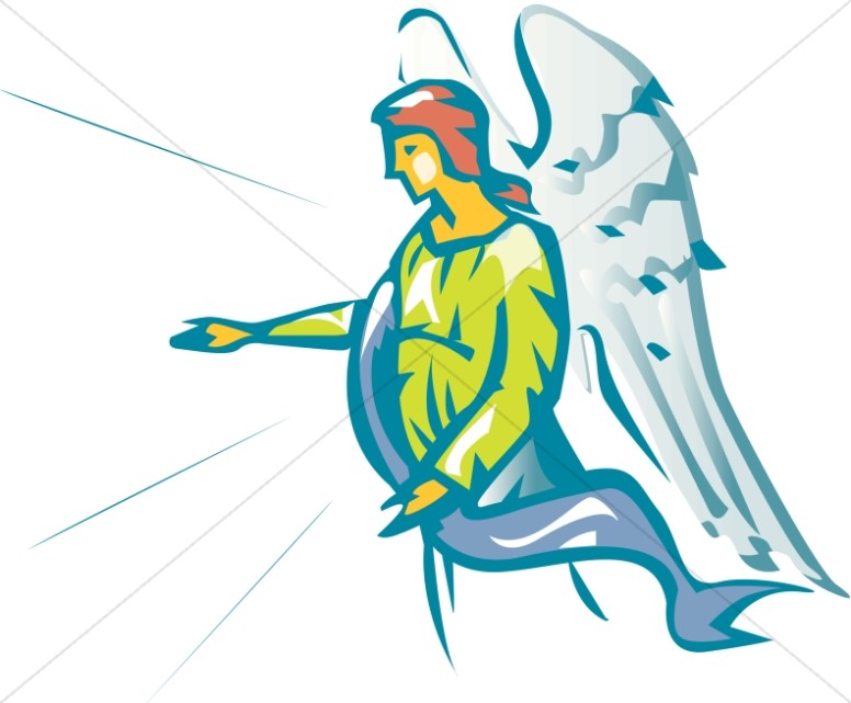 Ministering Angel Clipart | Angel Clipart