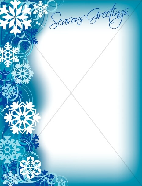 Seasons Greeting Border