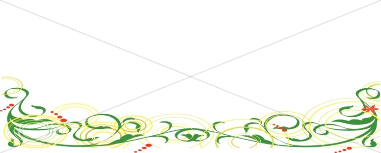 Swirls Page Divider