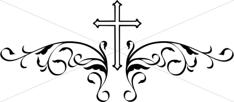 Decorative Black Cross