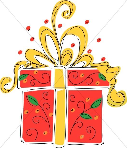 Big Red Present