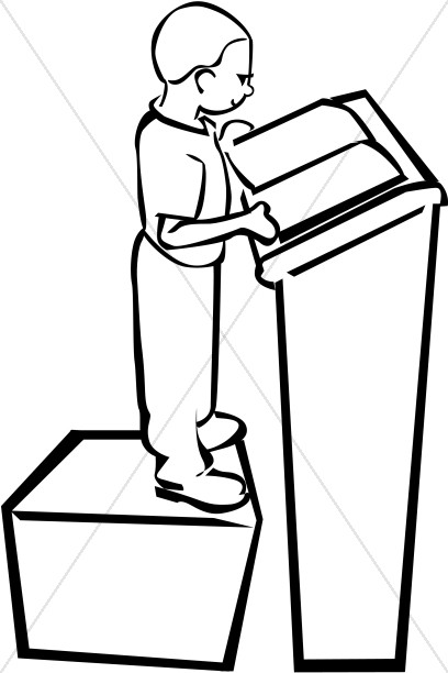 child at podium sunday school clipart rh sharefaith com podium clipart png olympic podium clipart