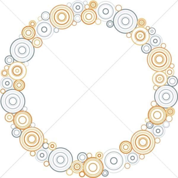 Pastel Circles Border