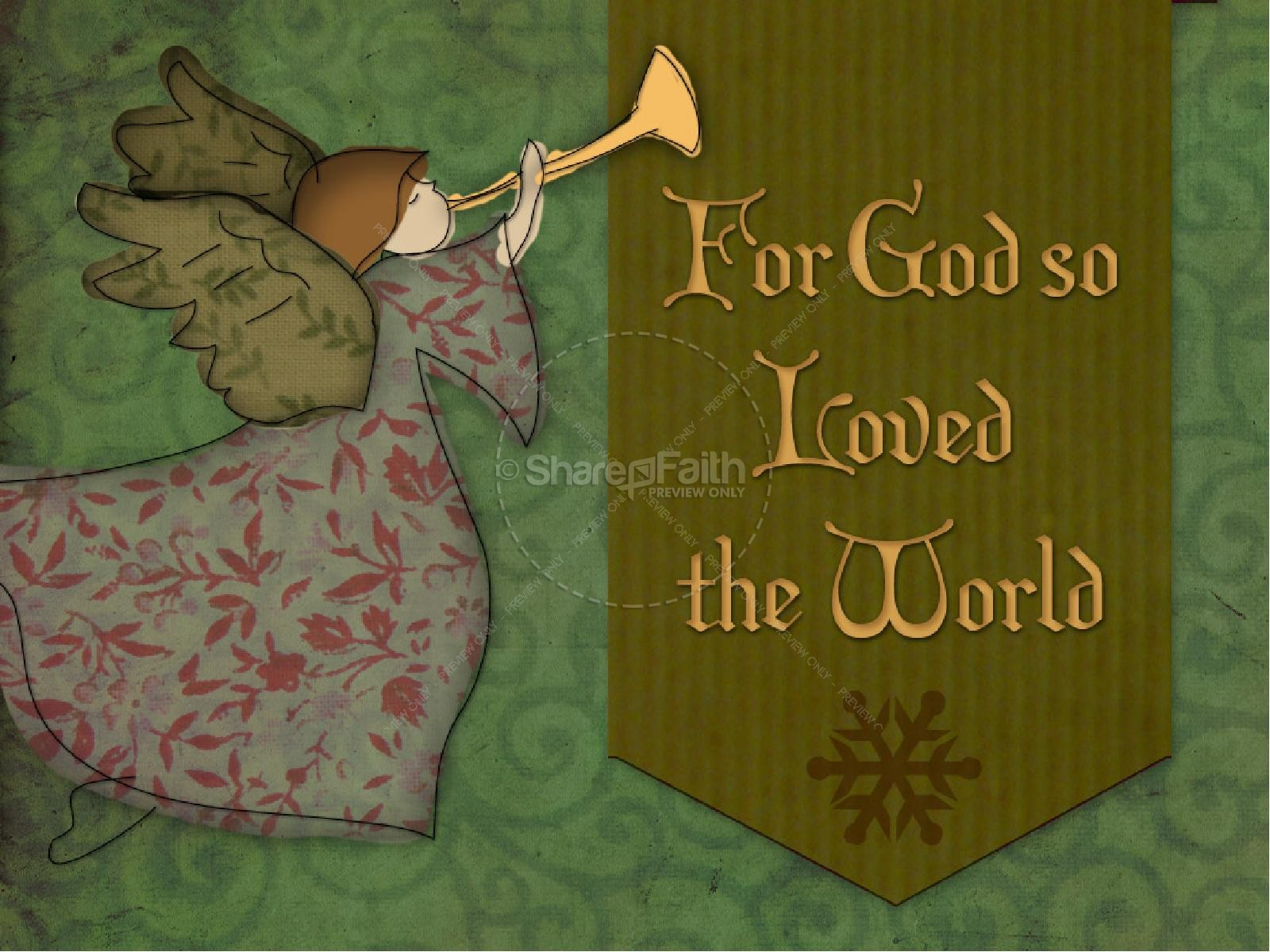 God So Loved the World PowerPoint