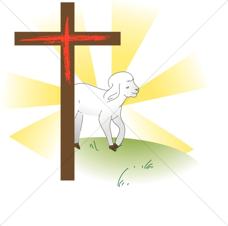 Cross with Lamb