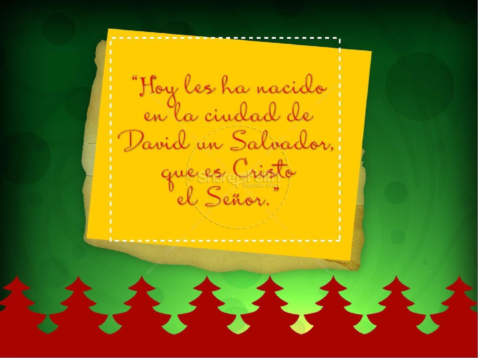 Feliz Navidad Spanish PowerPoint | slide 3