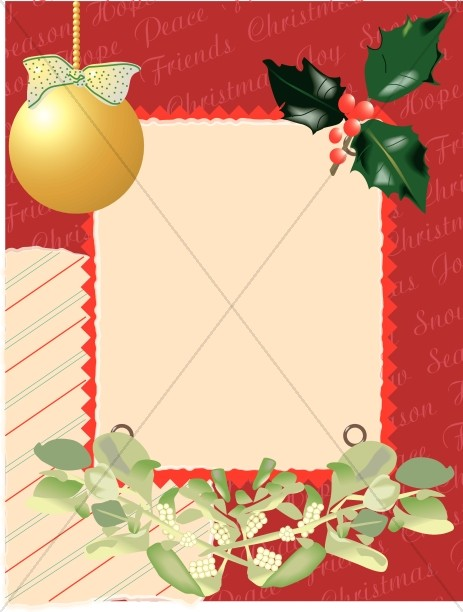 Christian Christmas Borders, Christmas Border Clipart - Sharefaith