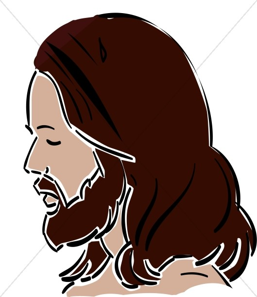 Side View of Jesus