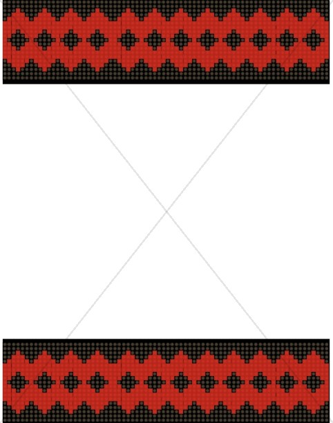 Textile Border Image
