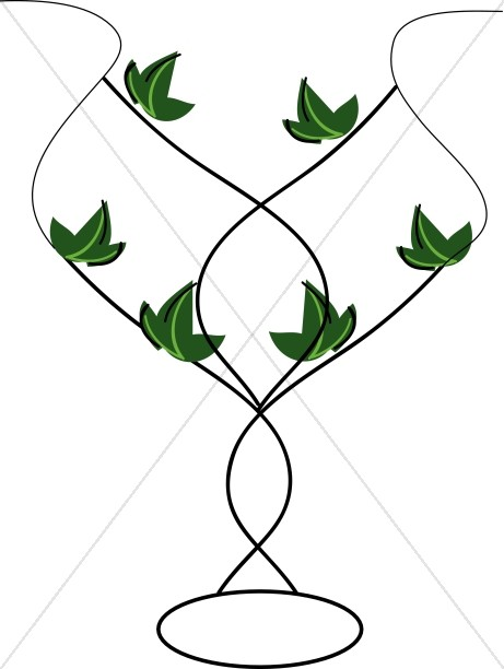 Decorative Leaf Vase