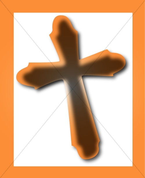 Brown Boxed Cross