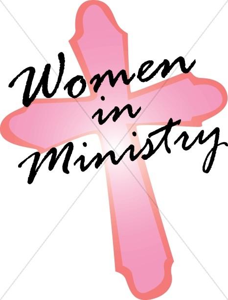 Pink Cross Women in Ministry