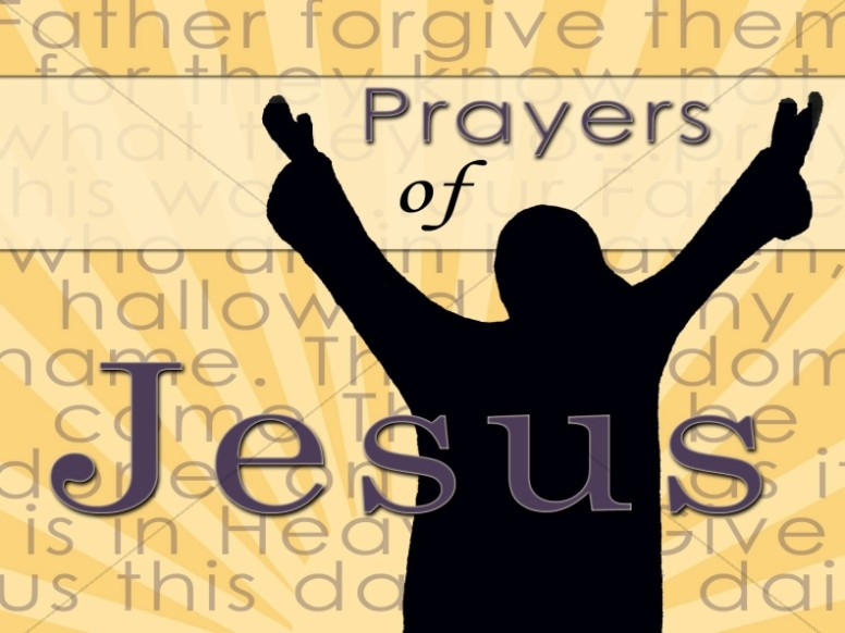 Prayers of Jesus Christian Image