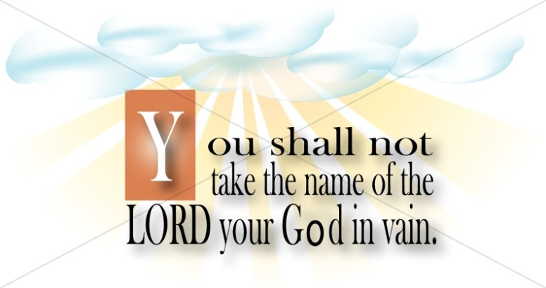 Image result for 3rd commandment pictures