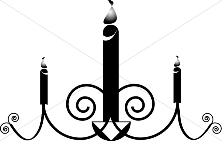 Preferred Church Candle Clipart, Candle images - Sharefaith TK37