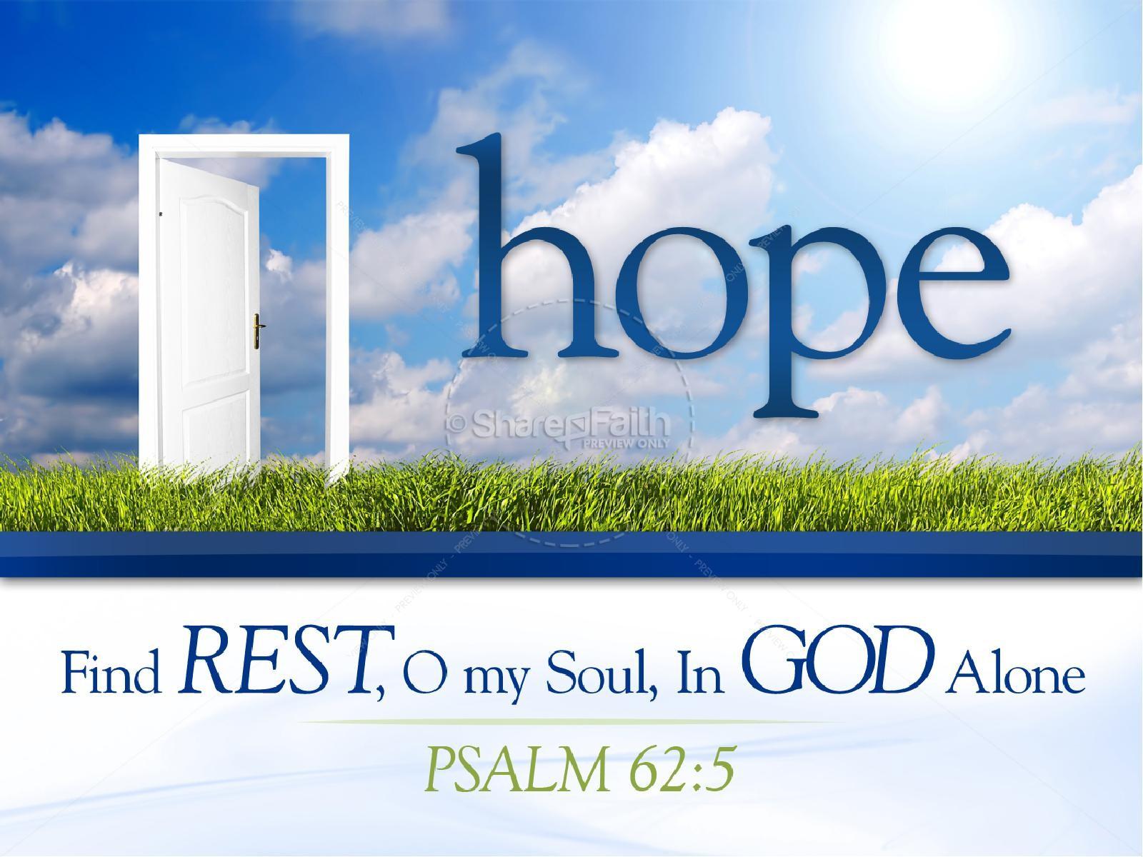 Hope Christian PowerPoint   slide 1