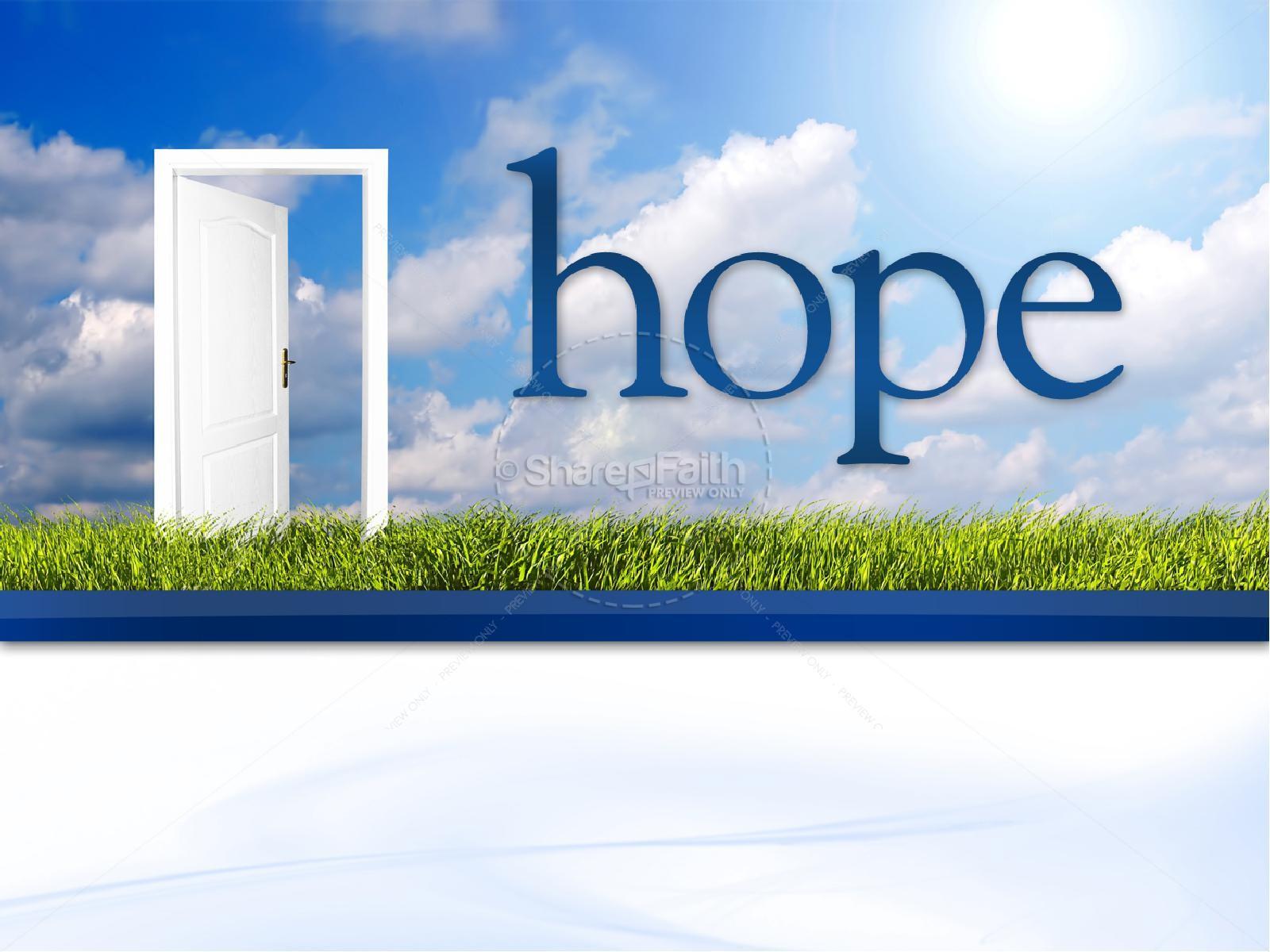 Hope Christian PowerPoint | slide 3
