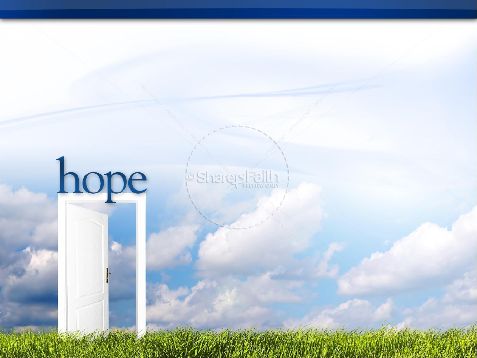 Hope Christian PowerPoint   slide 5