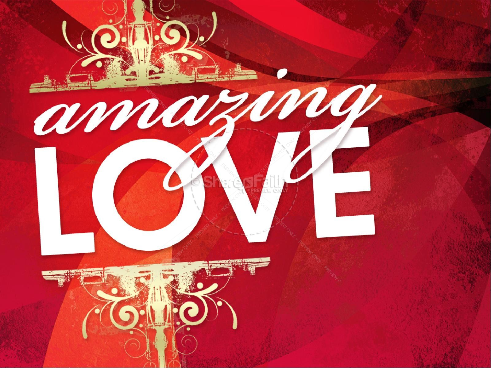 Amazing Love PowerPoint | slide 2