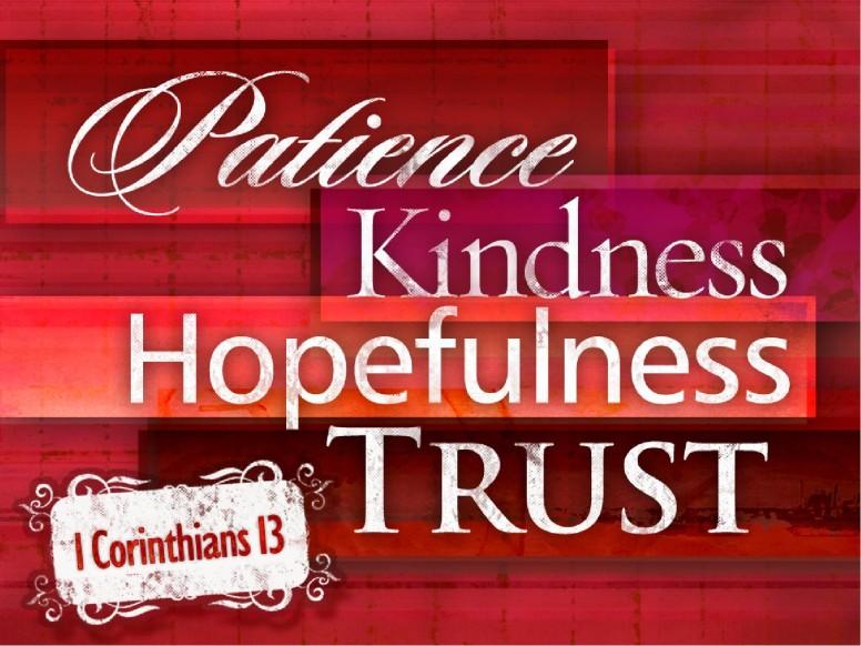 1 Corinthians 13 PowerPoint