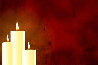 Communion Candles Worship Background