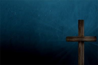 Wooden Cross Motion Background