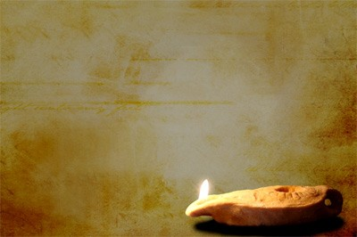 Oil Lamp Motion Background