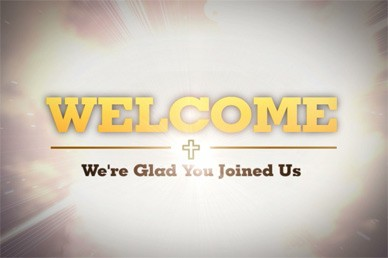Welcome Motion Splash Screen