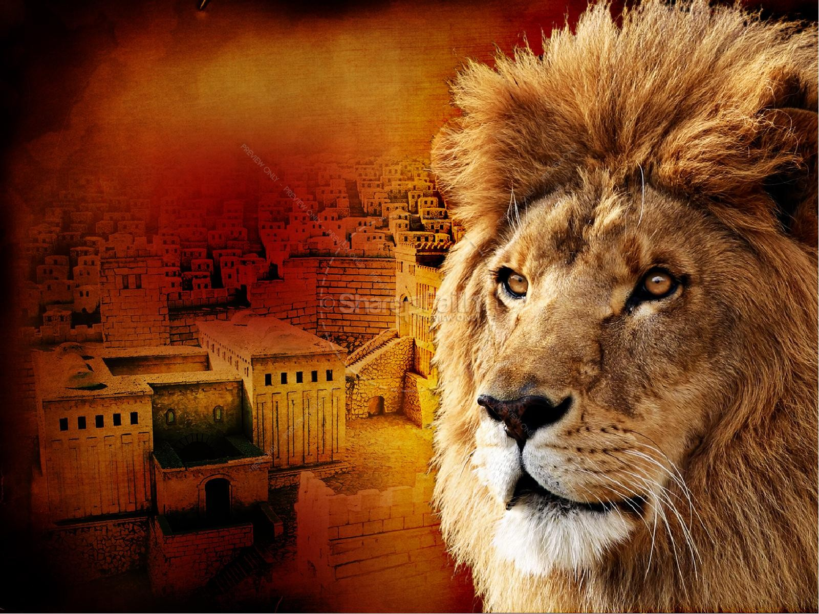Lion of Judah Church PowerPoint | slide 3