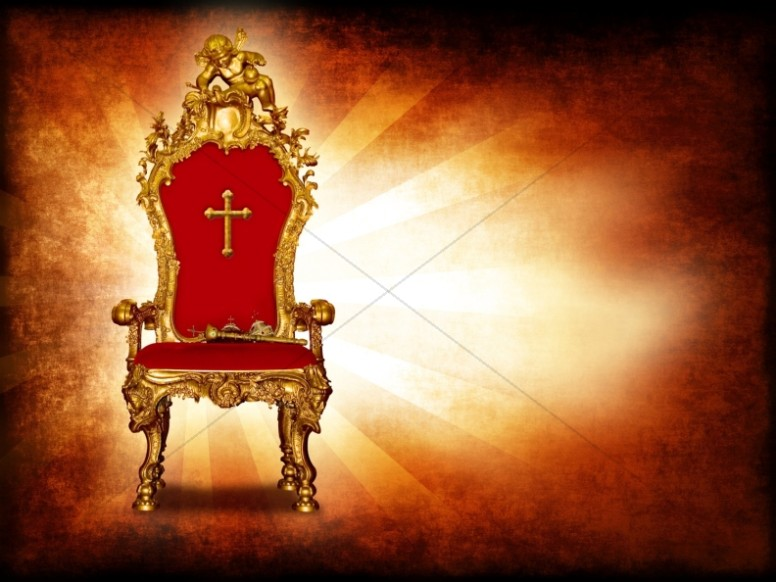 Throne of God Worship Background
