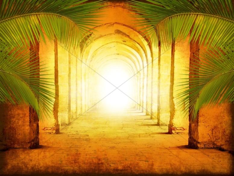 Palm Sunday Worship Background