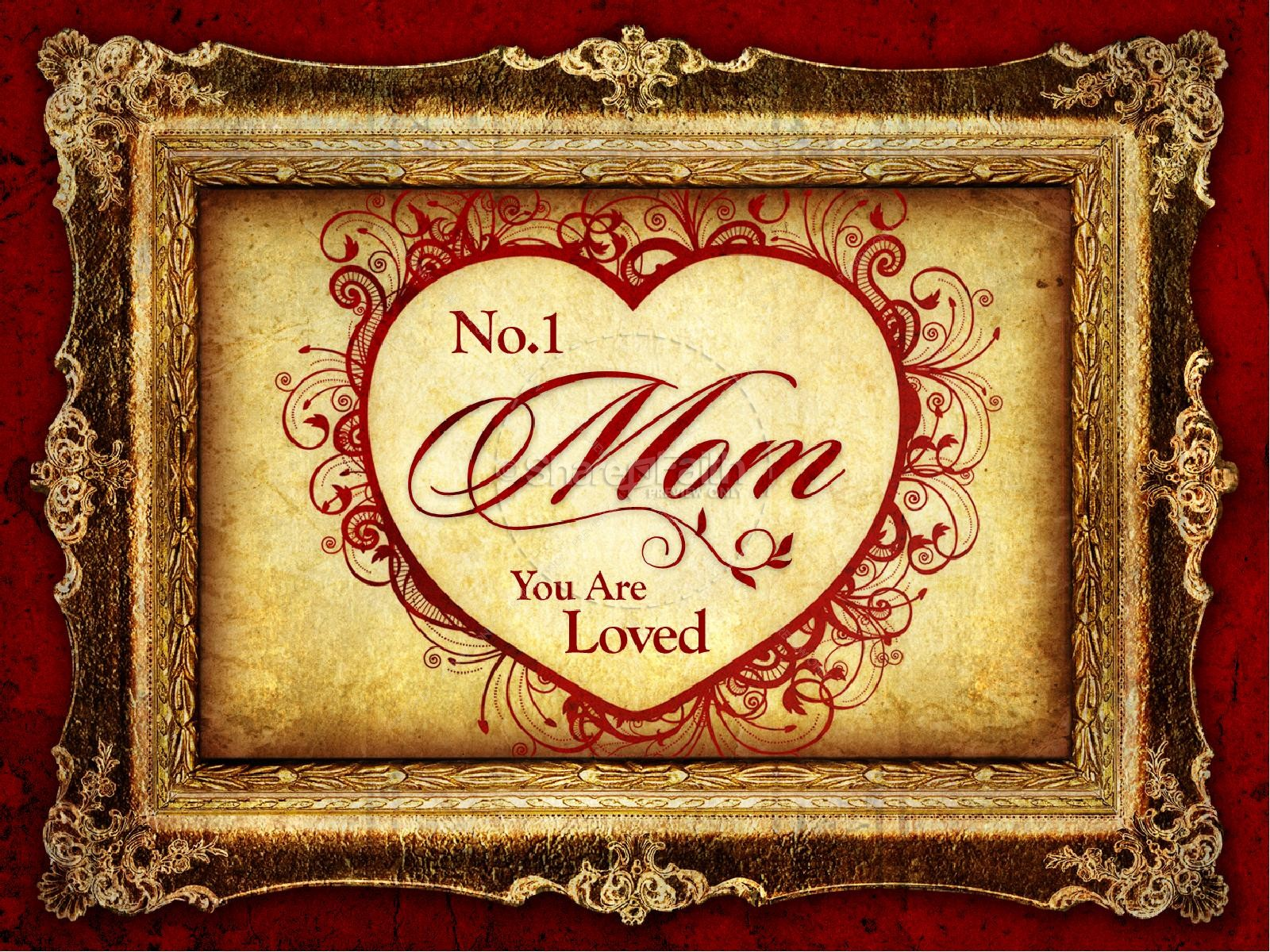 You Are Loved Mothers Day PowerPoint | slide 1