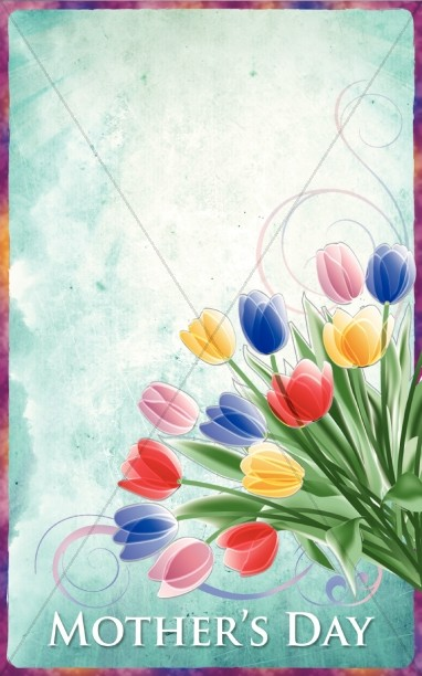 Mothers Day Bulletin Cover