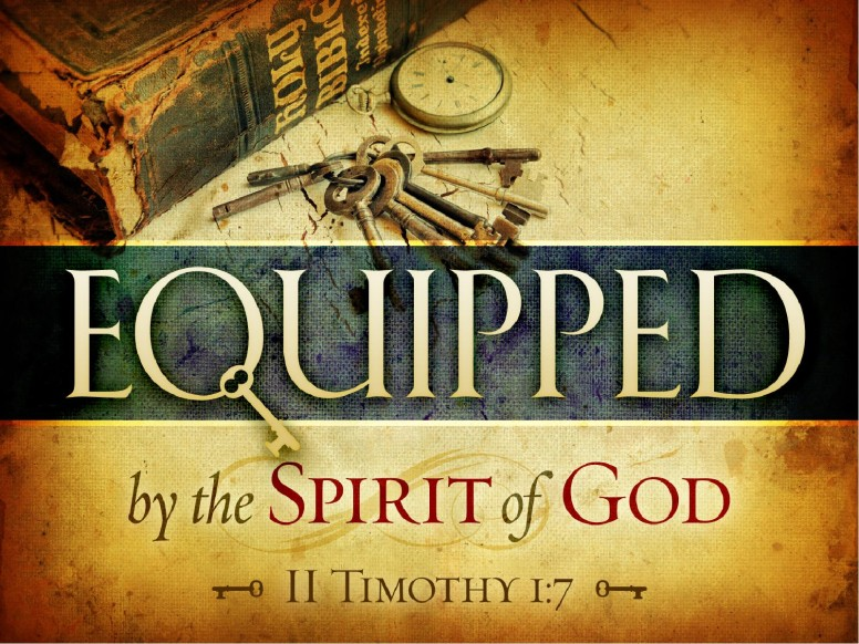 Equipped by the Spirit of God PowerPoint Sermon