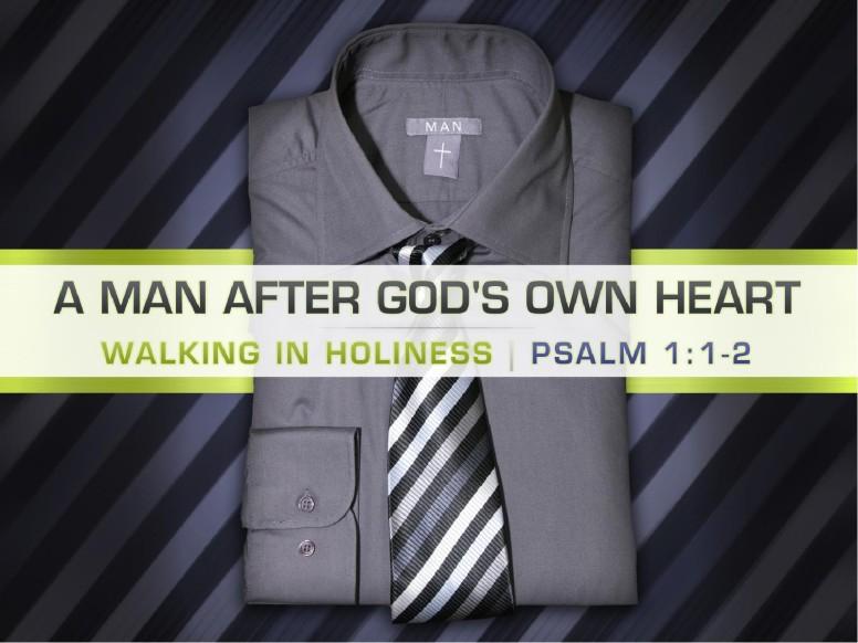 Man After God's Heart PowerPoint Template