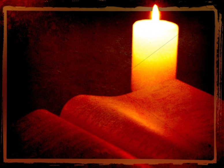 Candle Worship Background