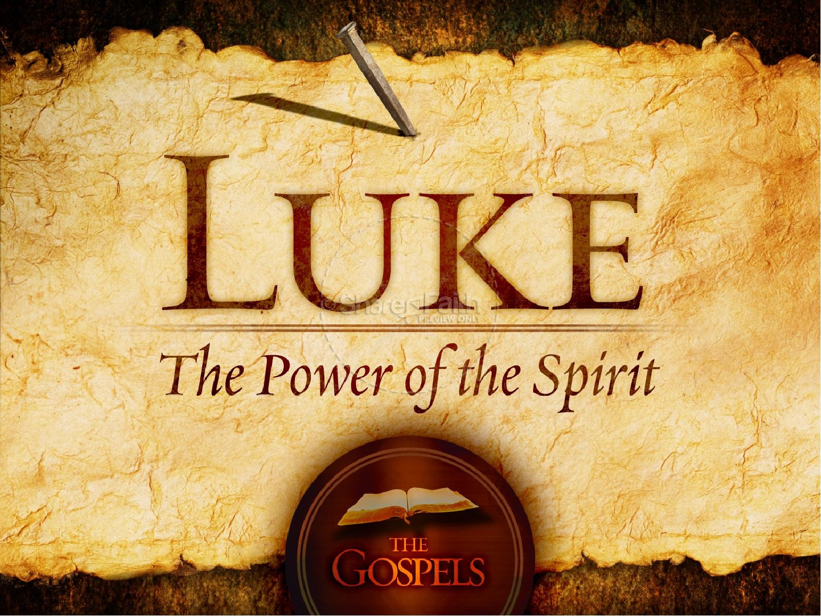a religious analysis of lukes significance in the scriptures But that thursday night, jesus revealed the messianic significance of two symbols: bread and wine the symbolism of the last supper charles stanley.