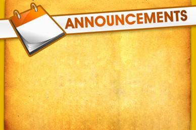 Church Announcements Video Splash Screen Loop